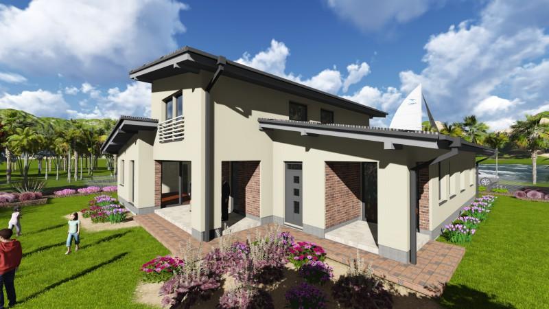 Projekty Poschodové Podkrovný Poschodový P20 Wittner Haus